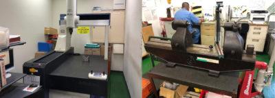 恒温室・測定機器を用いた品質保証体制