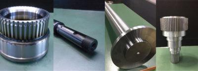 産業用シャフト製造に必要な加工設備
